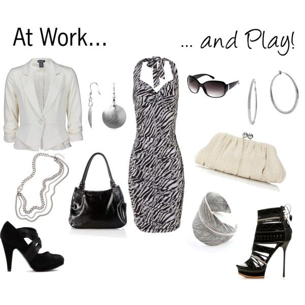 Work and Play, created by danielle-spakes on Polyvore