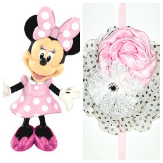 NEW - The Minnie Mouse Pink Headband The DISNEY Collection - Princess headband, Minnie's Bowtique, dress up, Disneyland, Disney