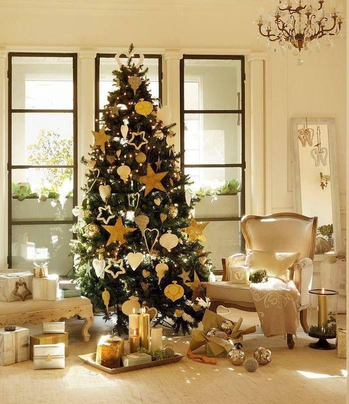 Decor Auriu De Craciun Poze De Craciun Pinterest Christmas