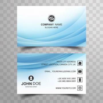 Abstract Card Logo Business Business Card Visiting Visiting