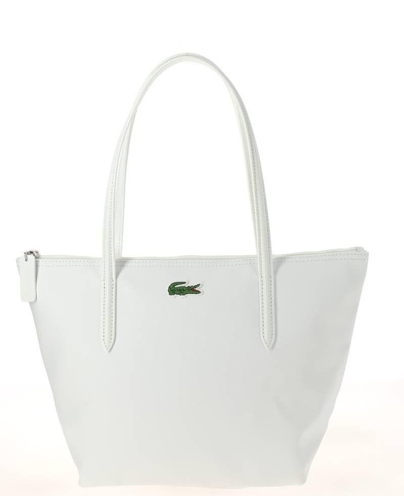 4b91ea8412 Sac Shopping Lacoste S Blanc | Sac à main | Pinterest | Lacoste, Bag ...