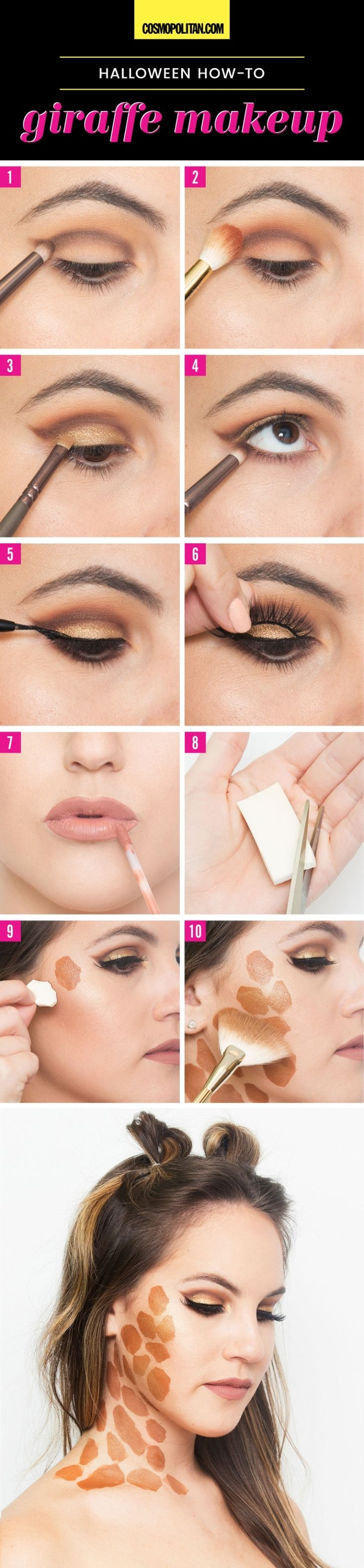 easy halloween makeup tutorials halloween makeup ideas with products you already have