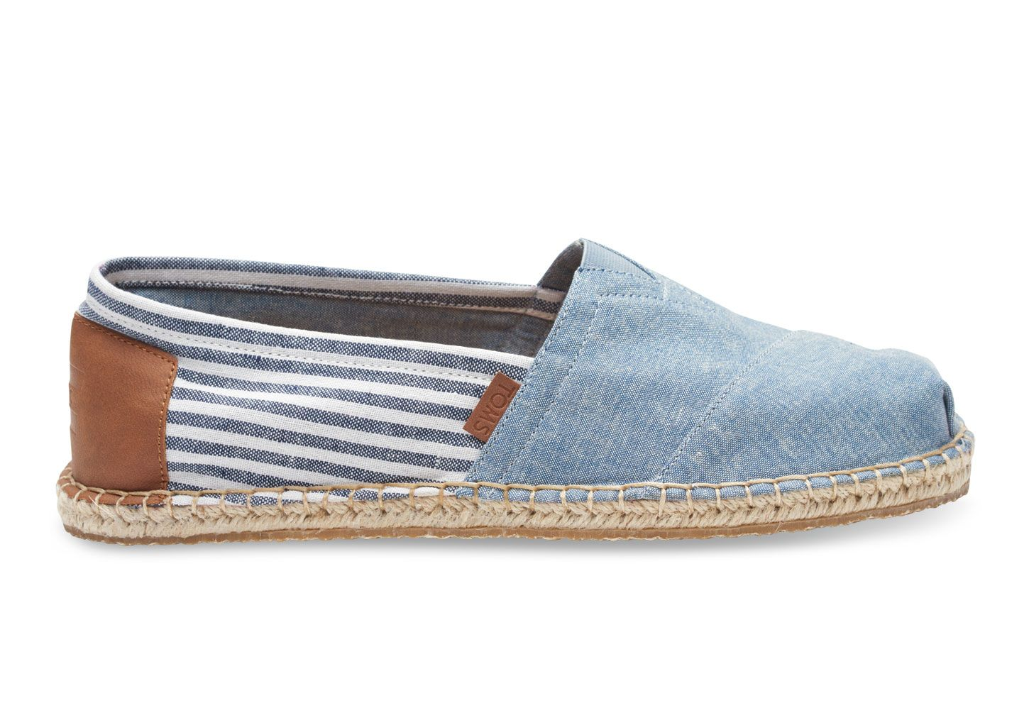 If you are looking for a powerful product choose Chambray Stripe Blanket  Stitch Men's Classics - TOMS Men Shoes Blue.