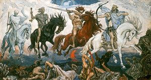 Jesus Reveals the Four Horsemen of the Apocalypse in Revelation