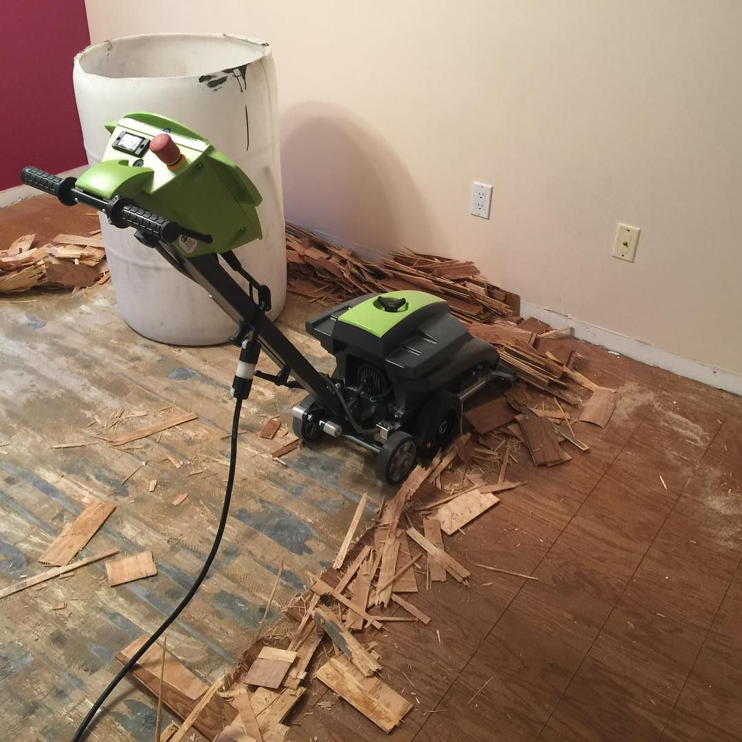 Removing This Glued Down Floor