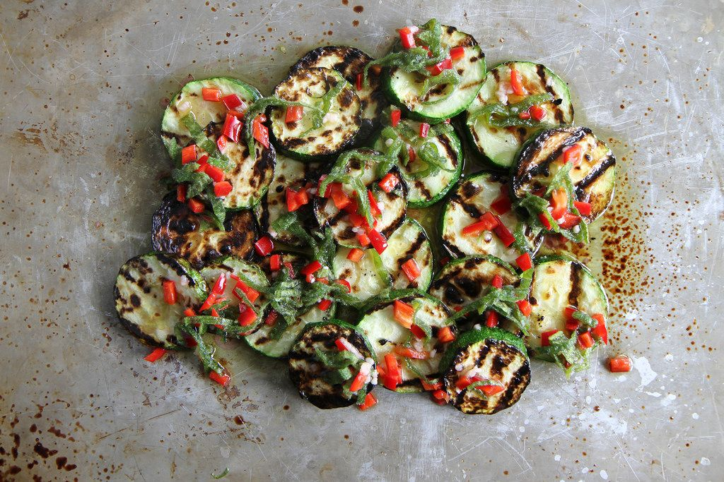 Fresh, healthy and delicious way to use up all that late summer zucchini!