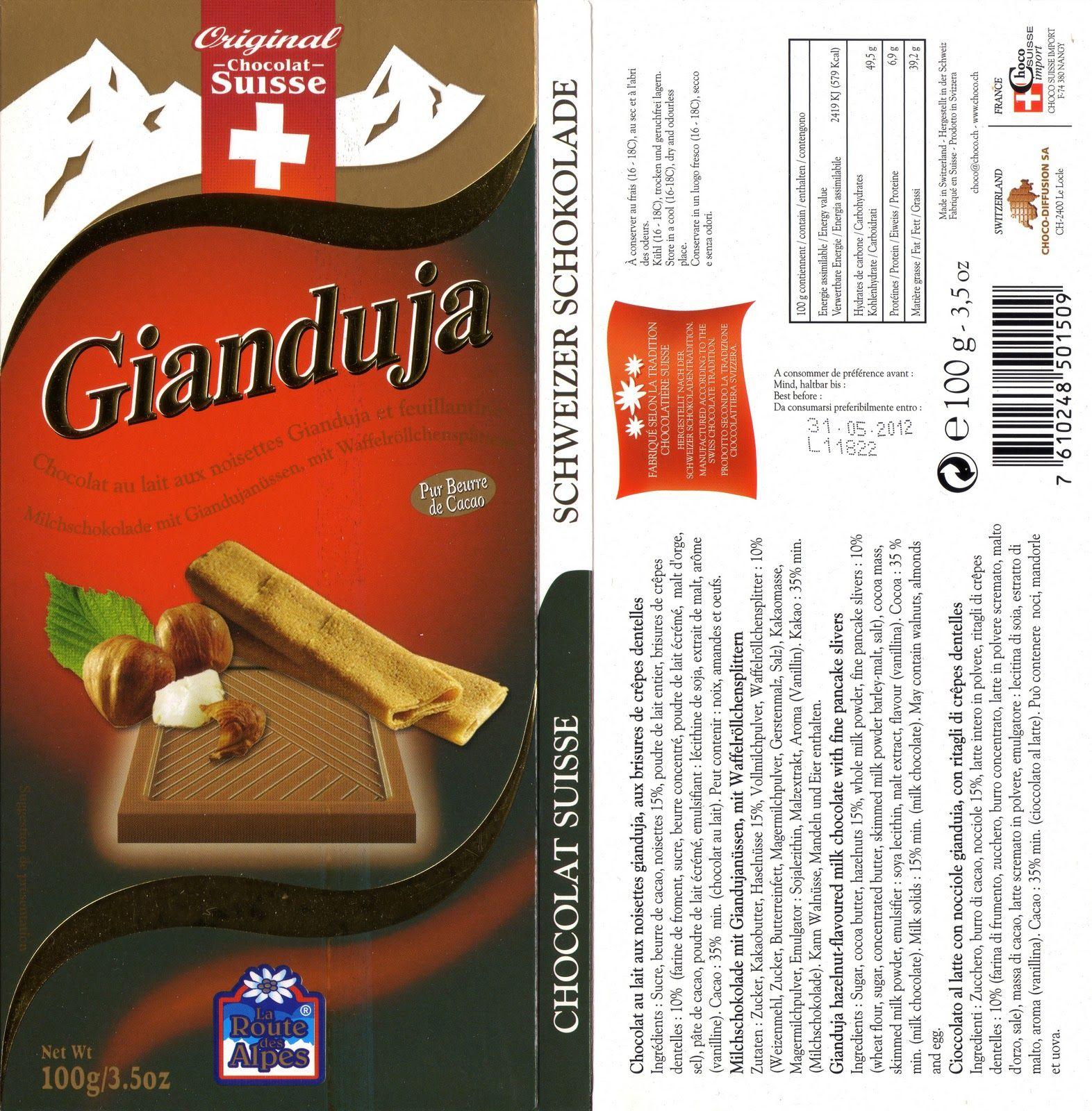 Tablette De Chocolat Lait Gourmand Orset La Route Des Alpes Lait