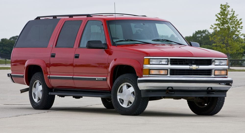 19 1998 Chevrolet Suburban Great Rig Terrible Gas Mileage