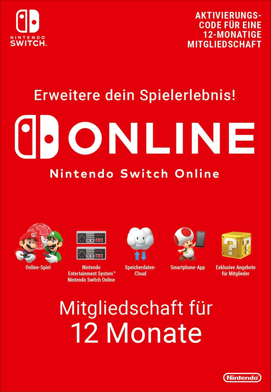 Nintendo Switch Online Mitgliedschaft 12 Monate Switch Download Code In 2020 Nintendo Switch Nintendo Nintendo Entertainment System