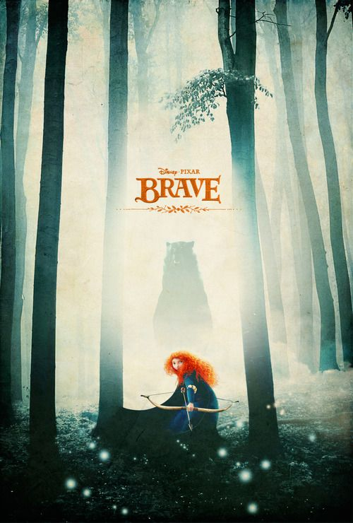 Alternative Brave Poster - by Justin Van Genderen