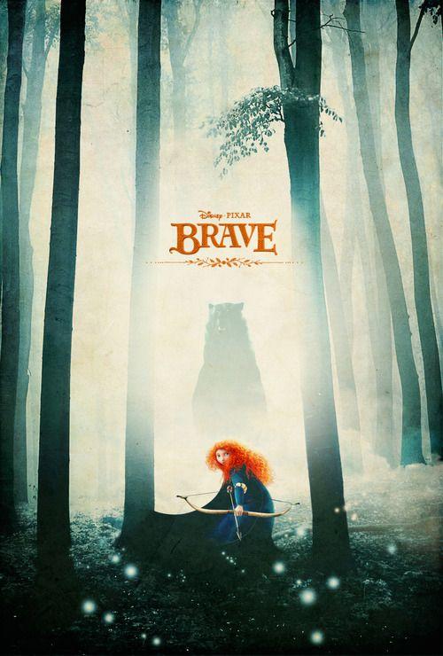 Alternative Brave Poster - byJustin Van Genderen