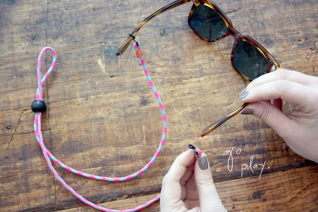 899b9665883 Sunglasses strap diy (going to improvise a little and make some toddler-sized  straps!)