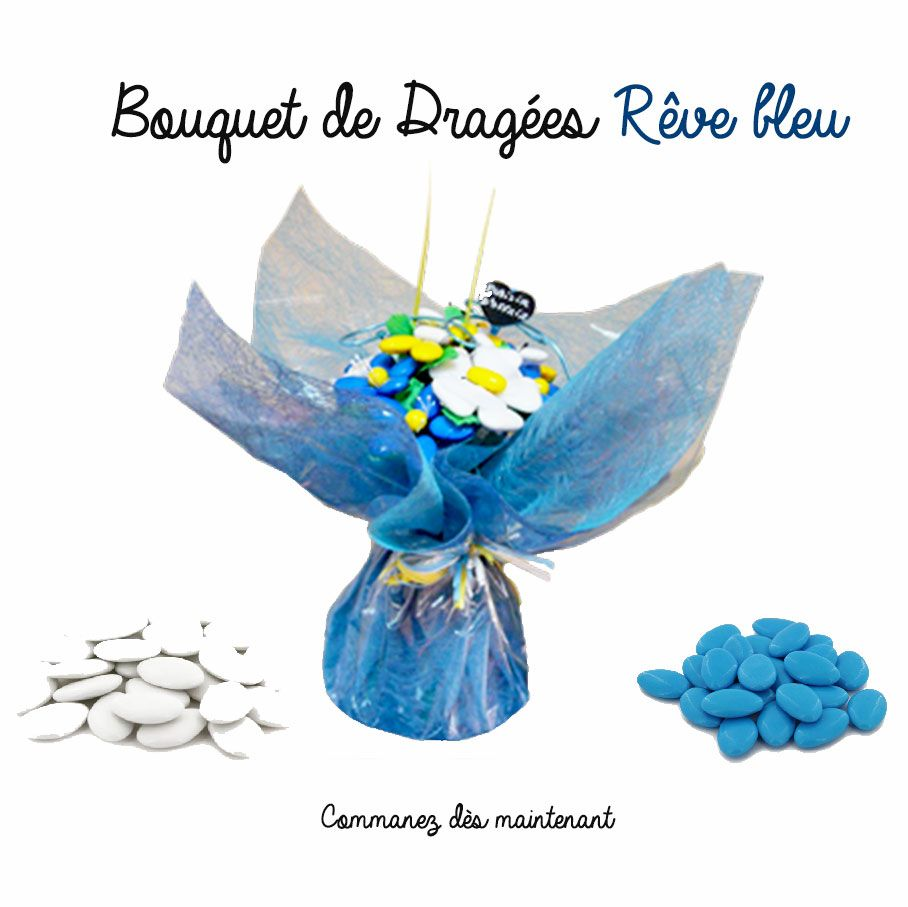 Un bouquet plein d 39 originalit avec ces fleurs de drag es for Bouquet de fleurs pour une naissance