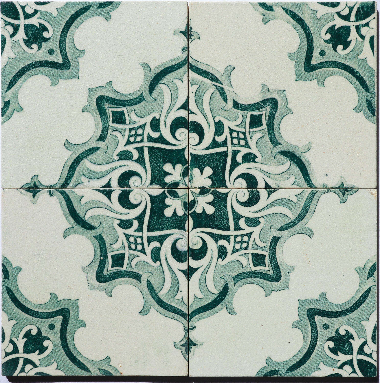 Antique Wall Tiles Azulejo Lisbon