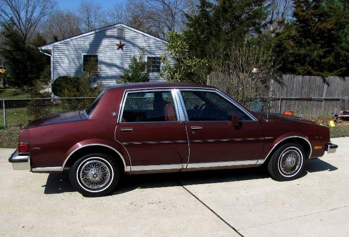 1982 Buick Skylark 4dr Sedan My 1st Car Buick Skylark Buick Skylark