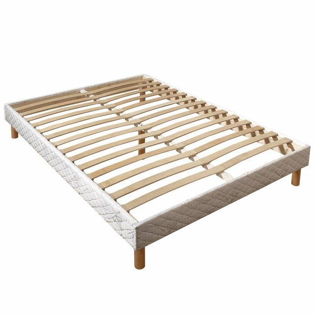 Sommier Tapissier A Lattes En Kit Bed Mattress Furniture