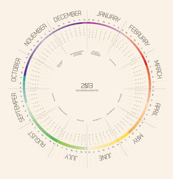 Calendar Design Behance : Unique and creative calendar designs design