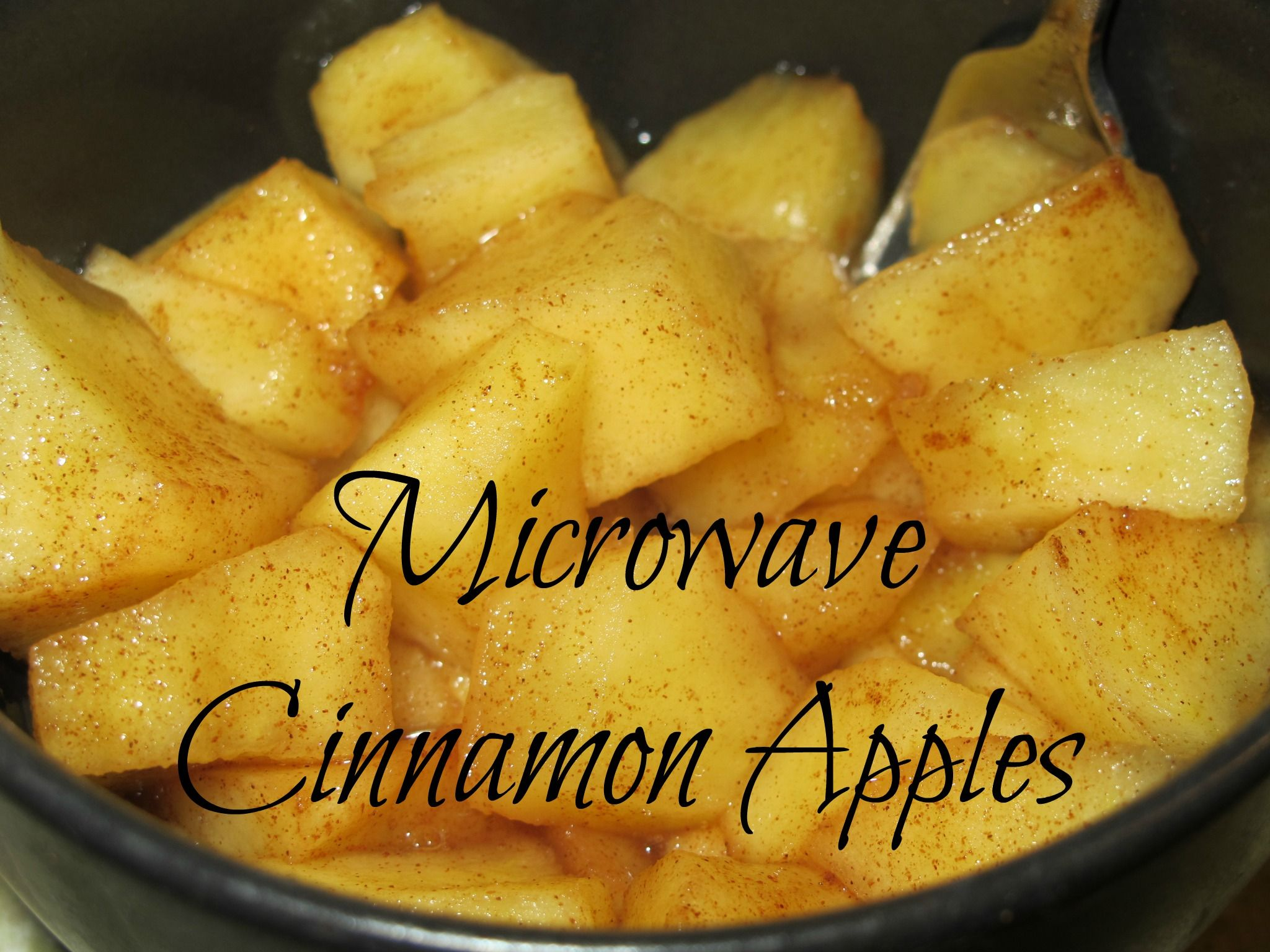 Microwave Cinnamon Apples - A Tasty Snack Kids Love! | Apple crisp ...
