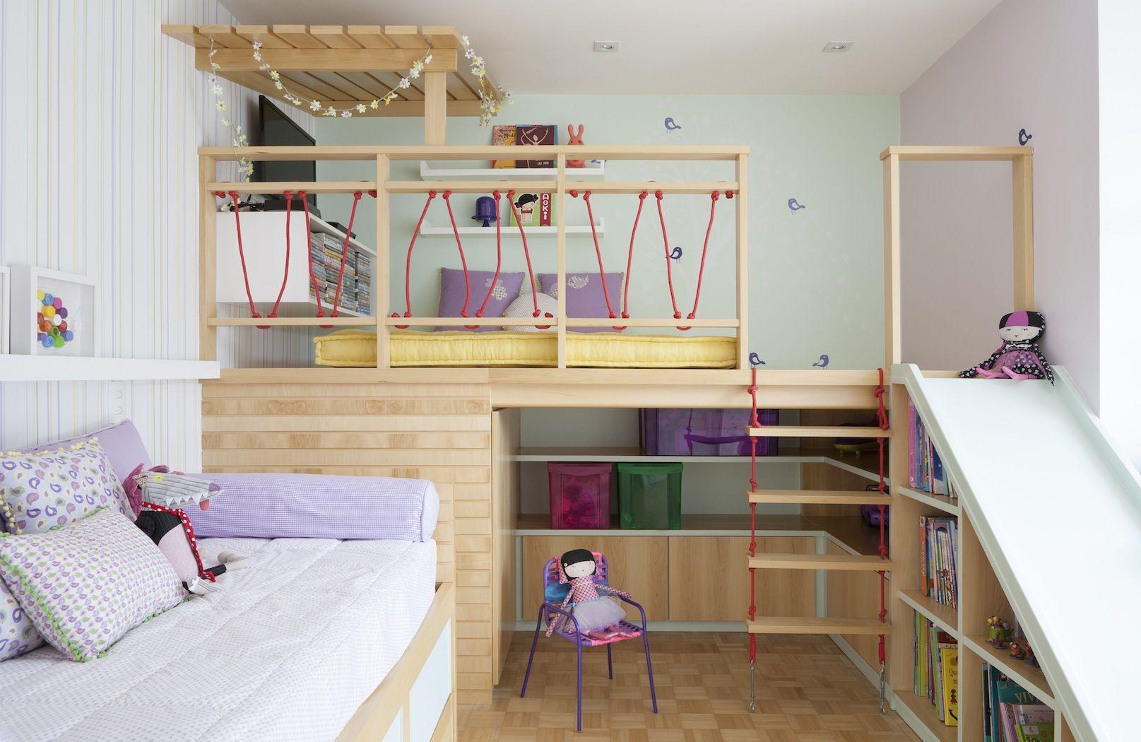 10 Ideias De Marcenaria Para Quartos De Crian A E Brinquedoteca  ~ Designer De Interiores Quarto E Prateleiras Quarto Menino