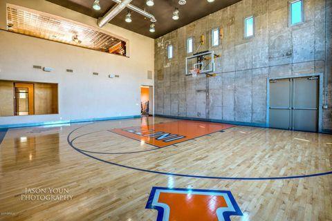 13808 S Canyon Dr Phoenix Az 85048 Home Basketball Court Basketball Room Family House