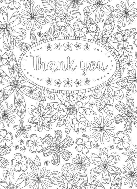 Line Work Representing Leading Artists Who Produce Children S And Decorative Work To Commission O Thank You Flowers Quote Coloring Pages Flower Coloring Pages