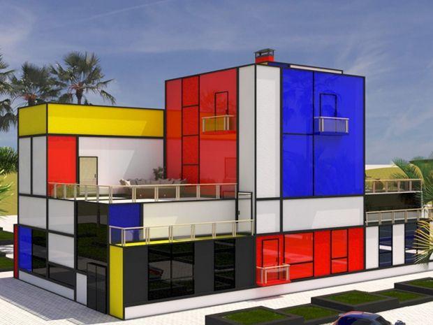 Vasily klyukin casa mondrian la voglio dream home for Ville architetti famosi