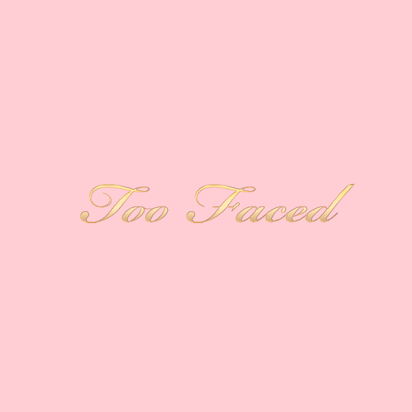 Too Faced Logo cosmetics Pinterest