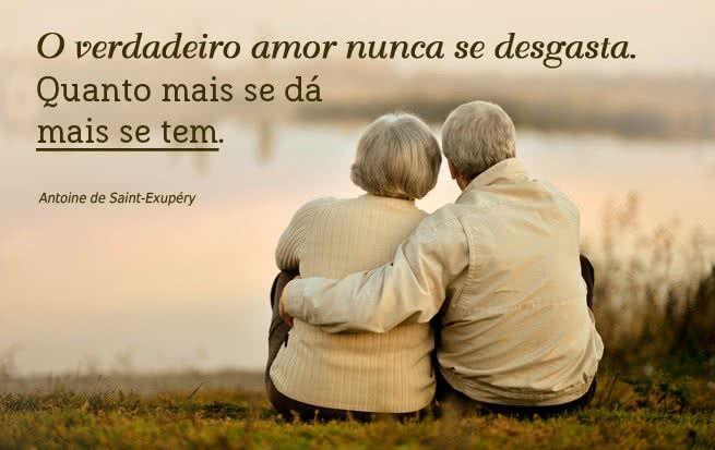 O verdadeiro amor nunca se desgasta