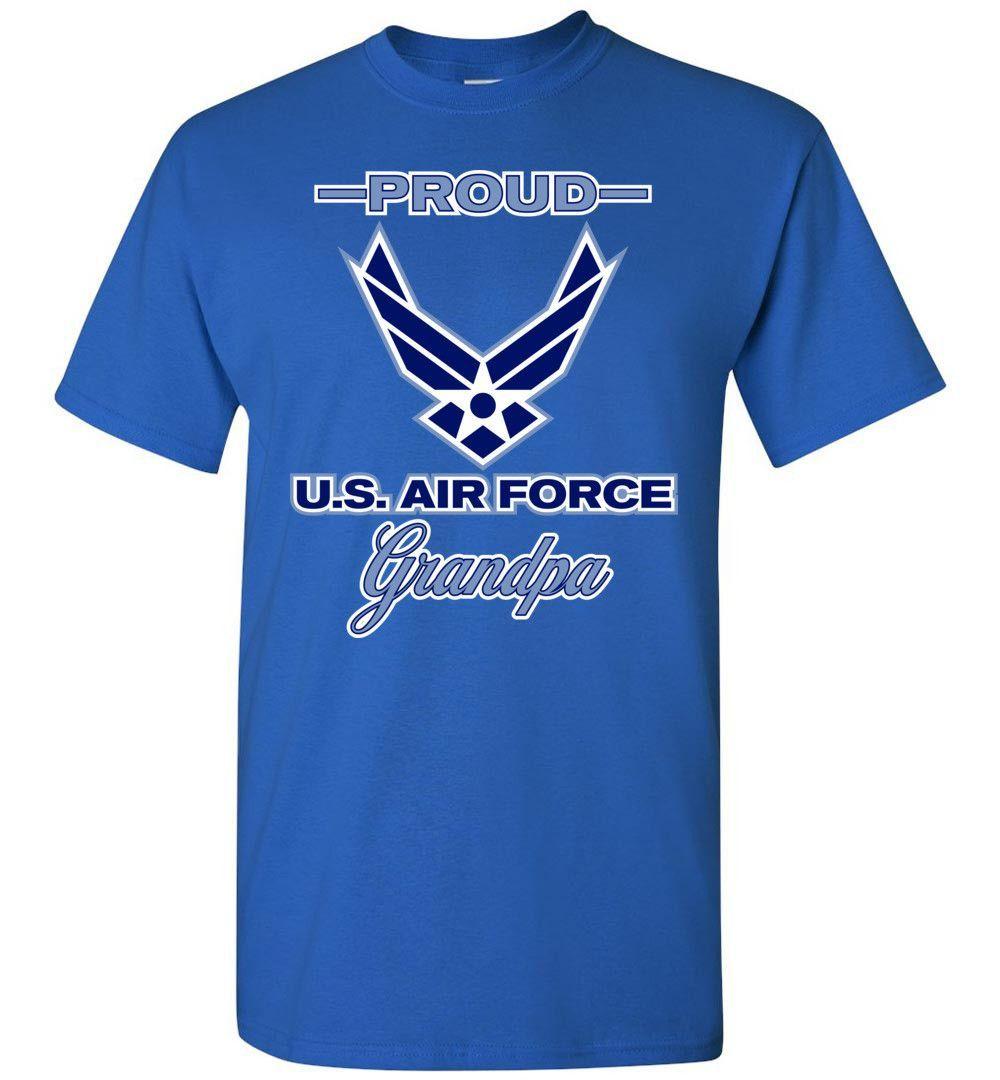 Proud U.S. Air Force Grandpa Gildan T-Shirt
