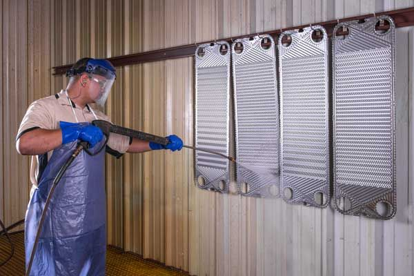 How To Clean A Heat Exchanger In 7 Steps Harvill Industries