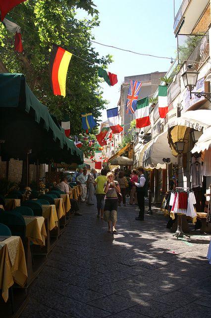 Sorrento, Italy - The Centro Storico