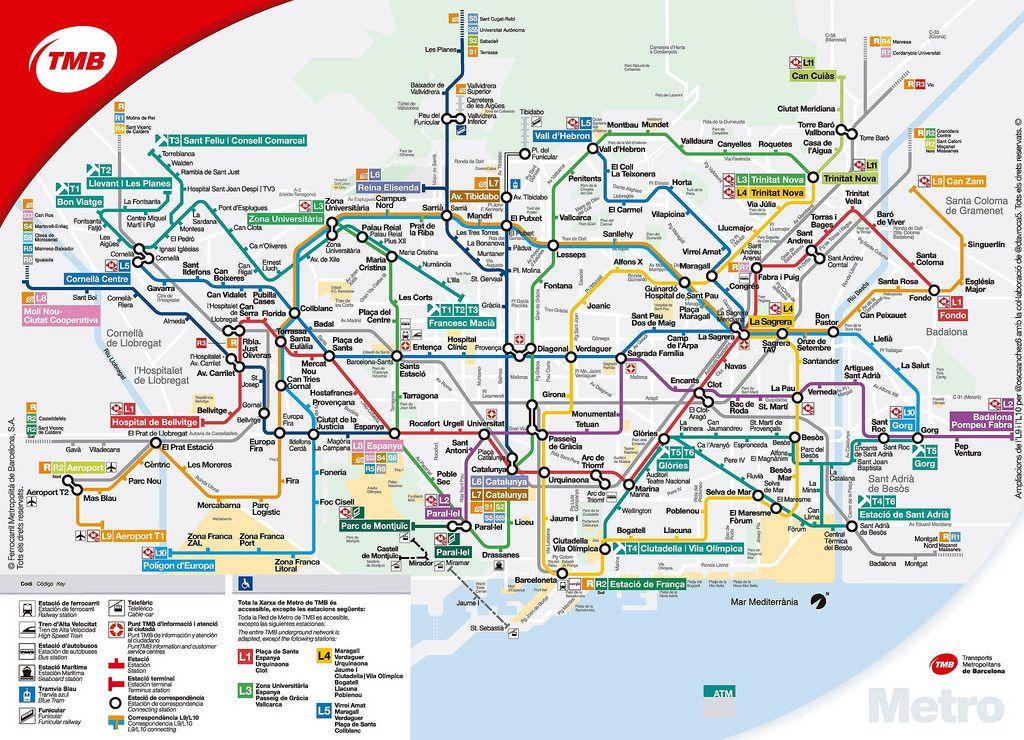 Linia 9 I 10 Del Metro De Barcelona Mandeting