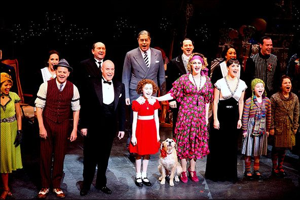Image result for the musical annie opens on broadway in 1977