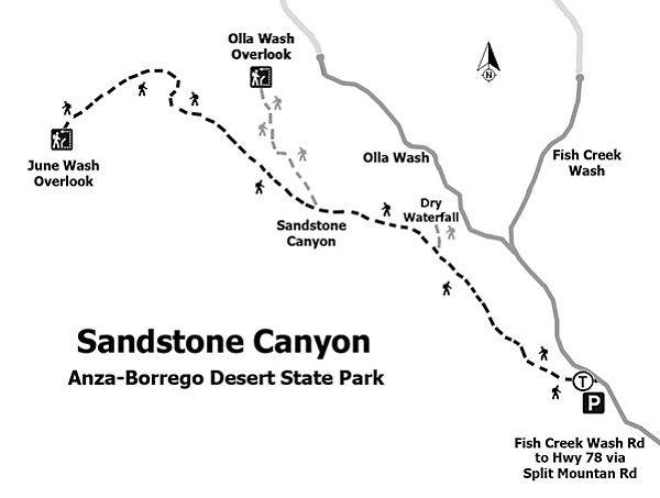 Hoof it in AnzaBorregos Sandstone Canyon San Diego Reader San