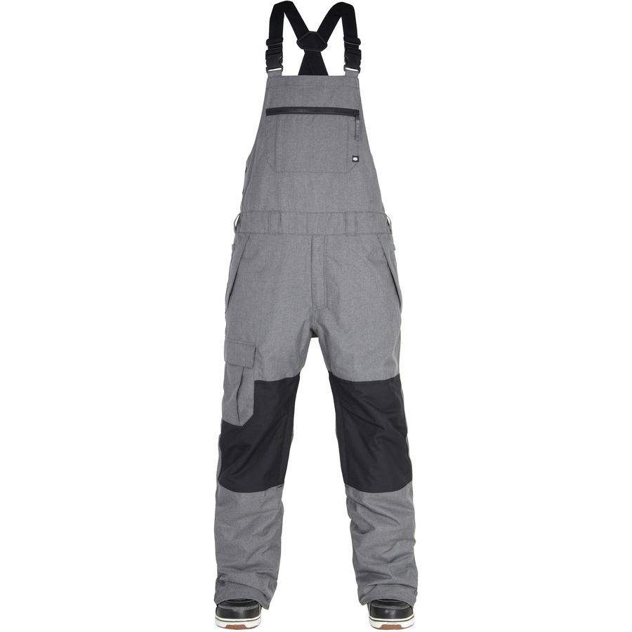 Insulated Winter Waterproof Ski Snowboard Snow Bib Pants Trousers for Mens