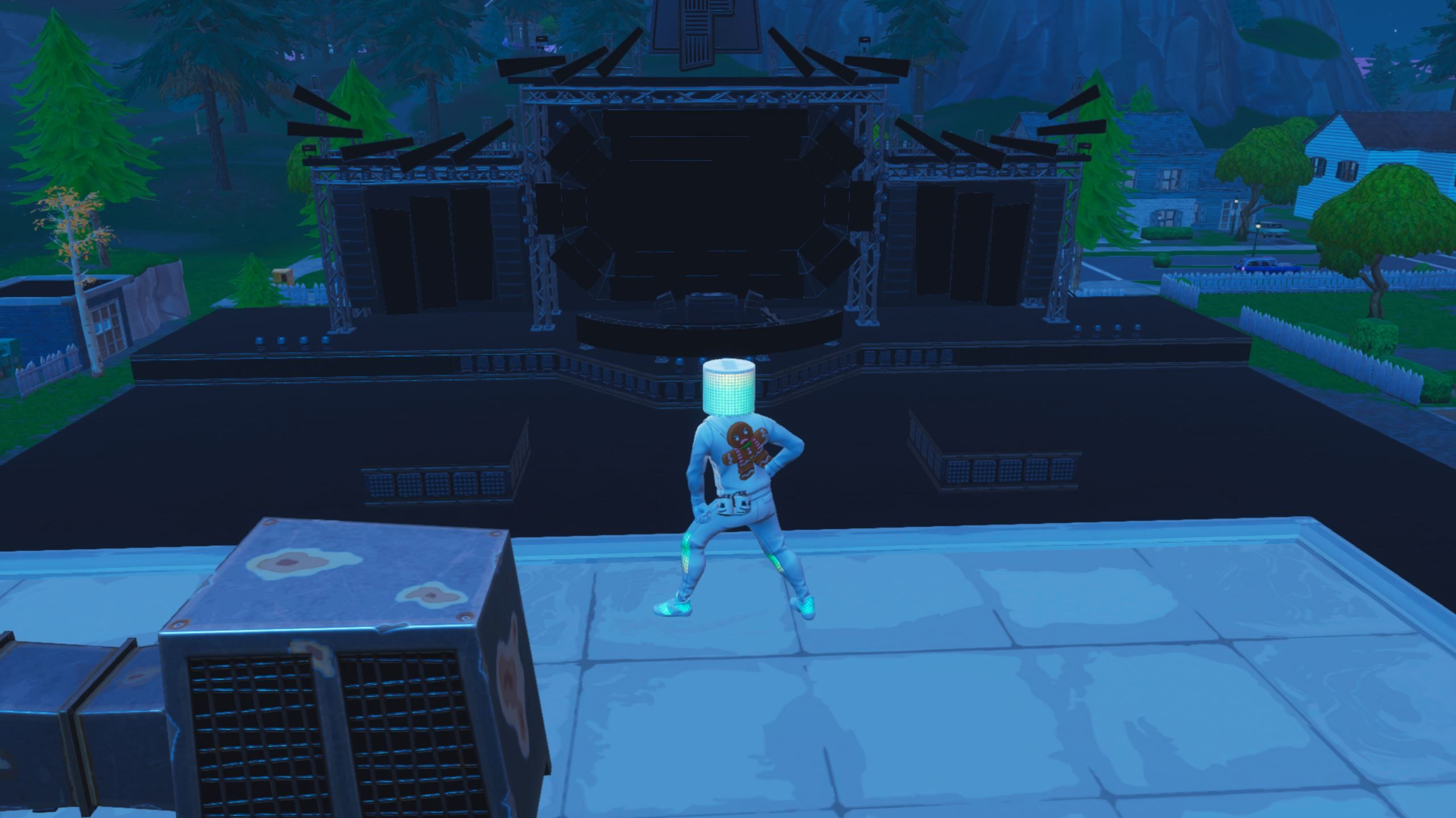 Marshmellos Fortnite Stage Is Now Complete Marshmellos Stage Started