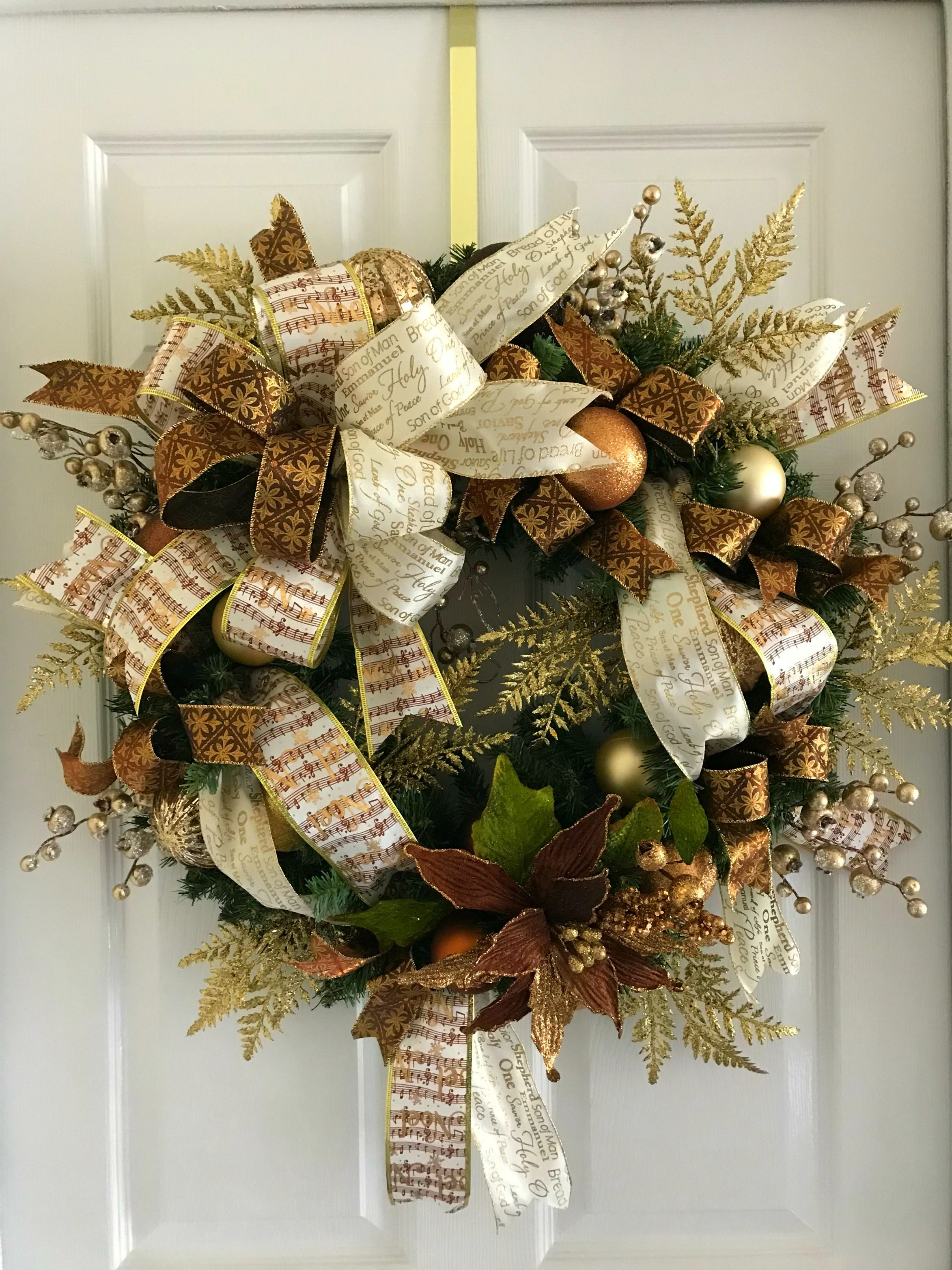 Rustic Country Christmas Poinsettia Wreath We Are Also Located In