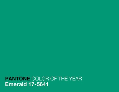Pantone Emerald 17 5641 Color Of The Year 2013 Vert Pantone
