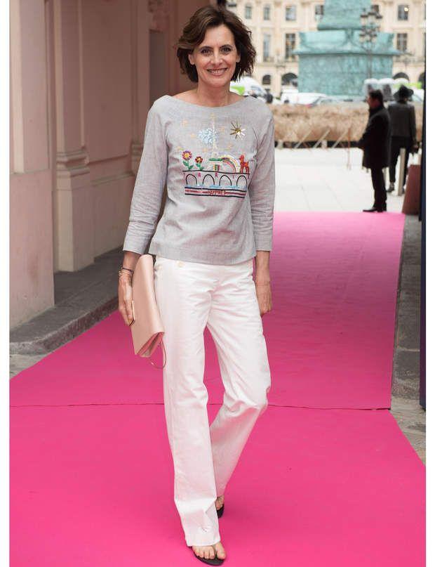 Inès de la Fressangeau défilé Schiaparelli Haute Couture automne-hiver 2016-2017.