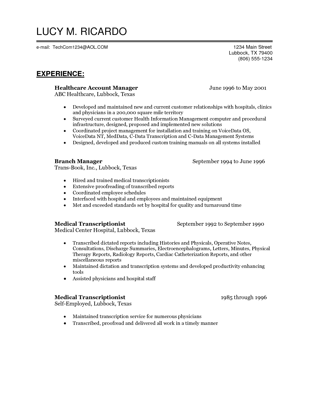 Fancy Health Management Resume Ensign - simple resume template ...