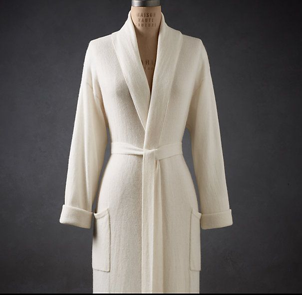 CASHMERE ROBE $369SPECIAL $183.99 - $294 Who wouldn\'t love this ...