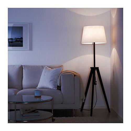 Lauters floor lamp base with led bulb ikea