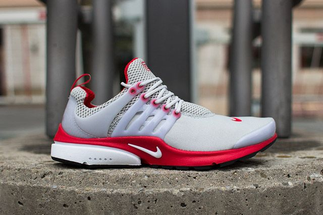 Nike Air Presto Grey/Red: Originally released back in the Nike Air Presto  is a near-perfect blend of style and comfort