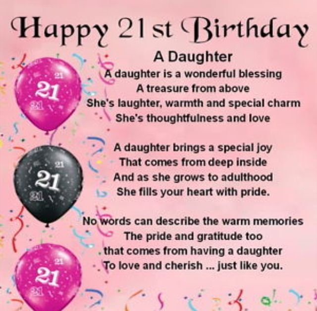 Pin by Arabella Estrada on Quotes | Happy 21st birthday ...