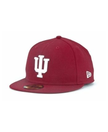 size 40 fe115 1a4b2 New Era Indiana Hoosiers 59FIFTY Cap - Red 7 1 2