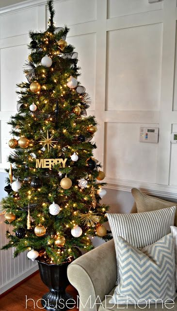 a modern glam christmas home tour