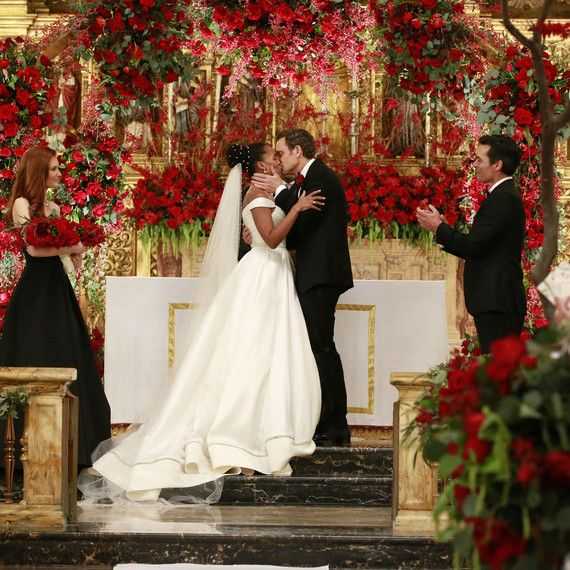 Get All The Details On Kerry Washington S Scandal Wedding Dress