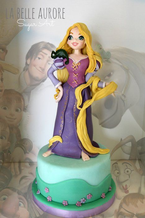 Rapunzel - by LaBelleAurore @ CakesDecor.com - cake ...