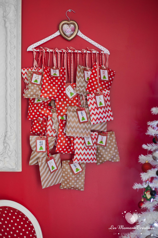 """Bastelset /""""Hiboux/"""" Cadeau Boxe calendrier de l/'Avent Noël"""