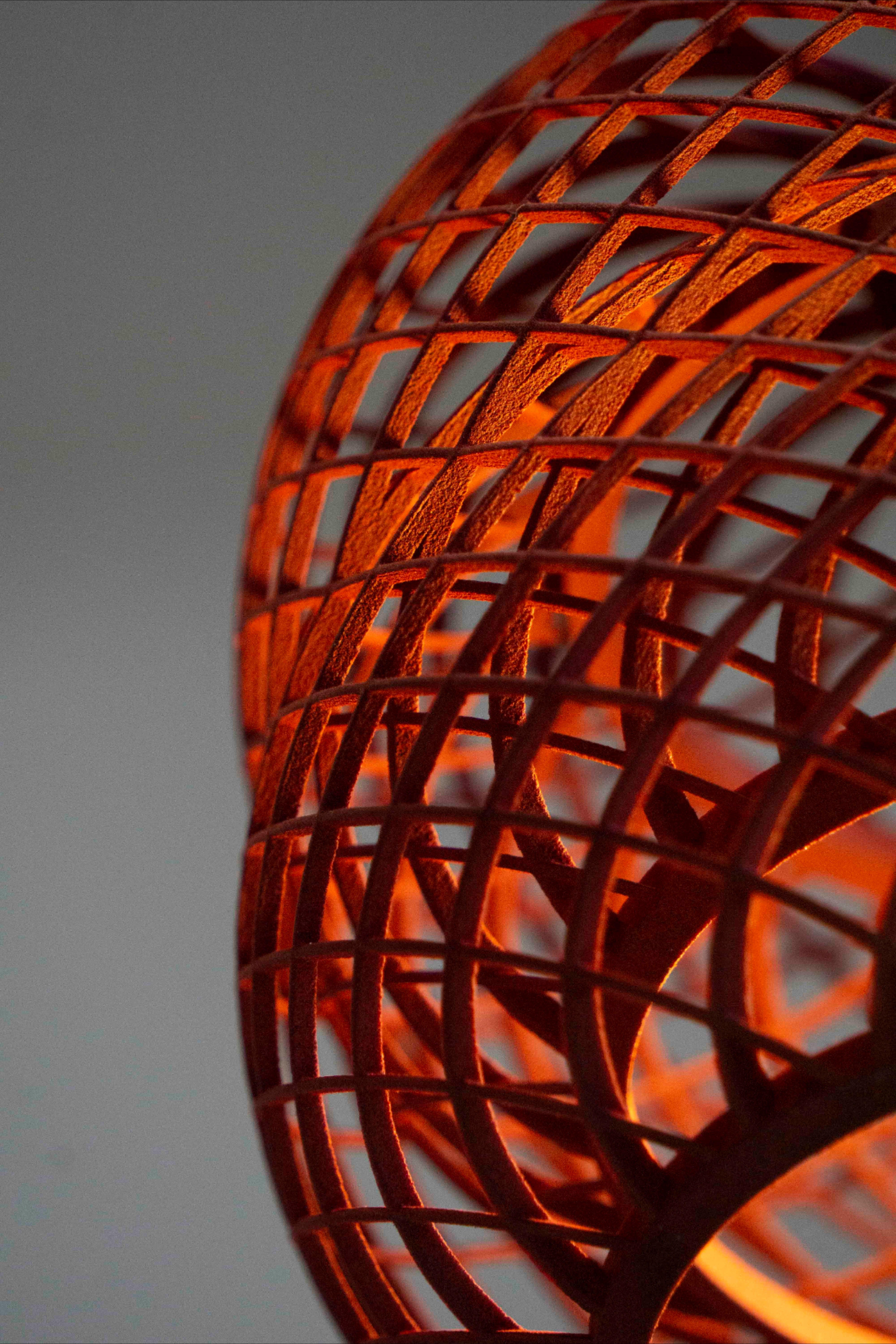 Leuchtfeuer 3d Gedrucktes Strahlen Leuchten Lampe Strahler